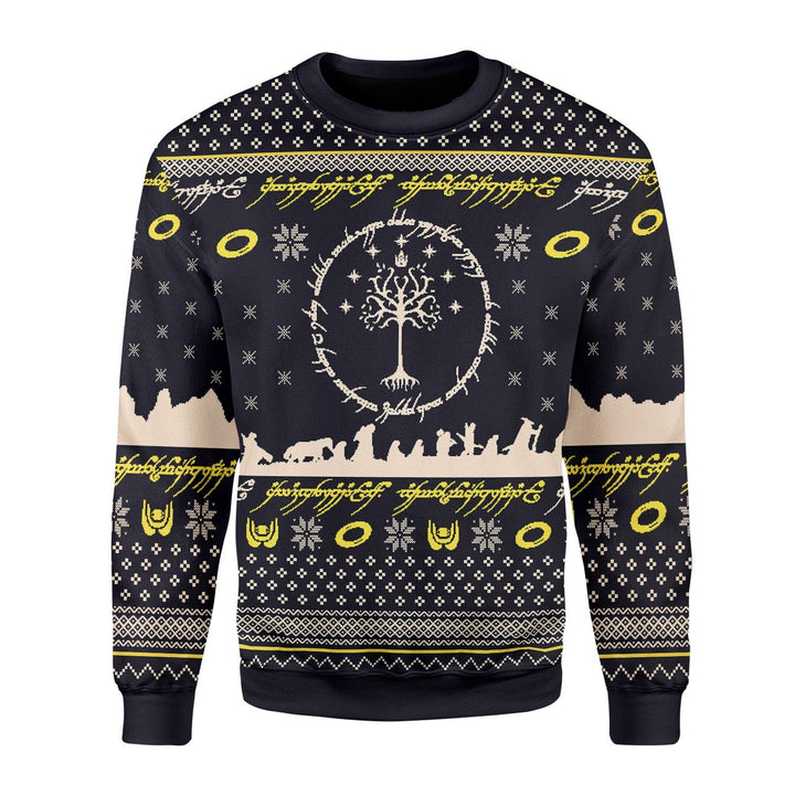 Lord Of The Rings Ugly Christmas Sweater / S Qm1679