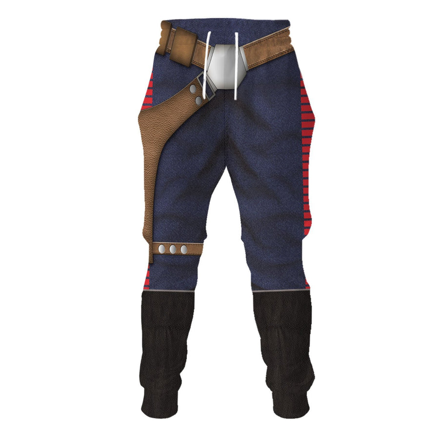 3D Han Solo All Over Print Qm192 Sweatpants / S