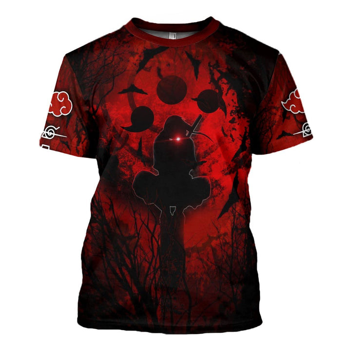 Red Night 3D T-Shirt T-Shirt / S G891