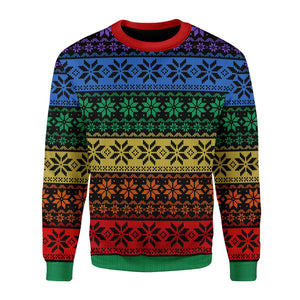 Lgbt Ugly Christmas Sweater / S Qr1645