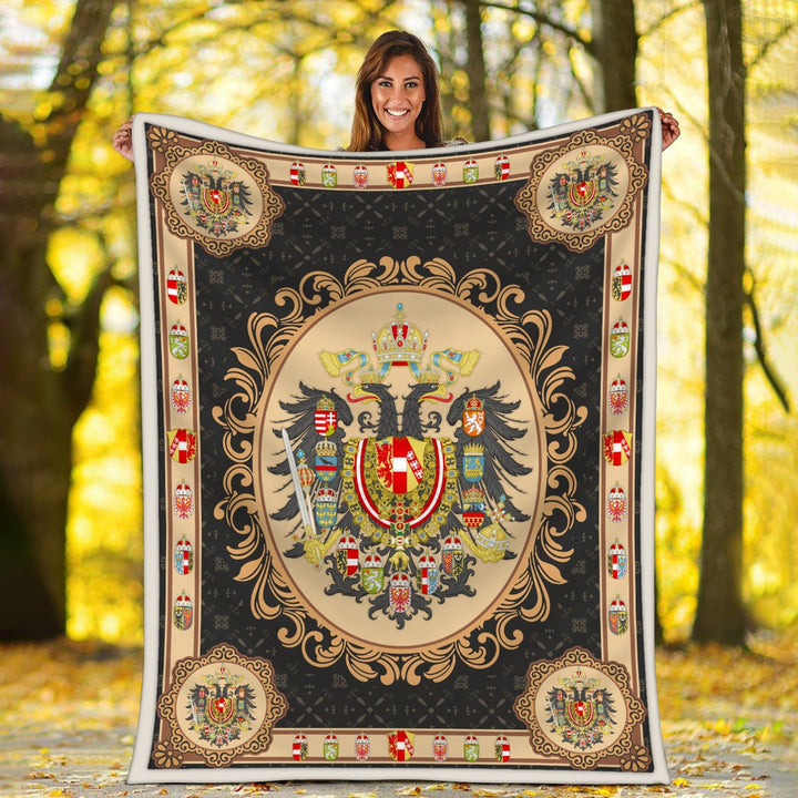 Austria-Hungary Coat Of Arms Blanket / S (51 X 59 Inches - 4 5 Feet ) Qm1600