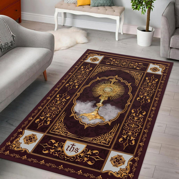 Monstrance Rug / Small (3 X 5 Feet - 35 59 Inches) Qm1408