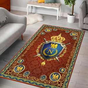 Napoleon Iii Rug / Small (3 X 5 Feet 35 59 Inches) Qm824