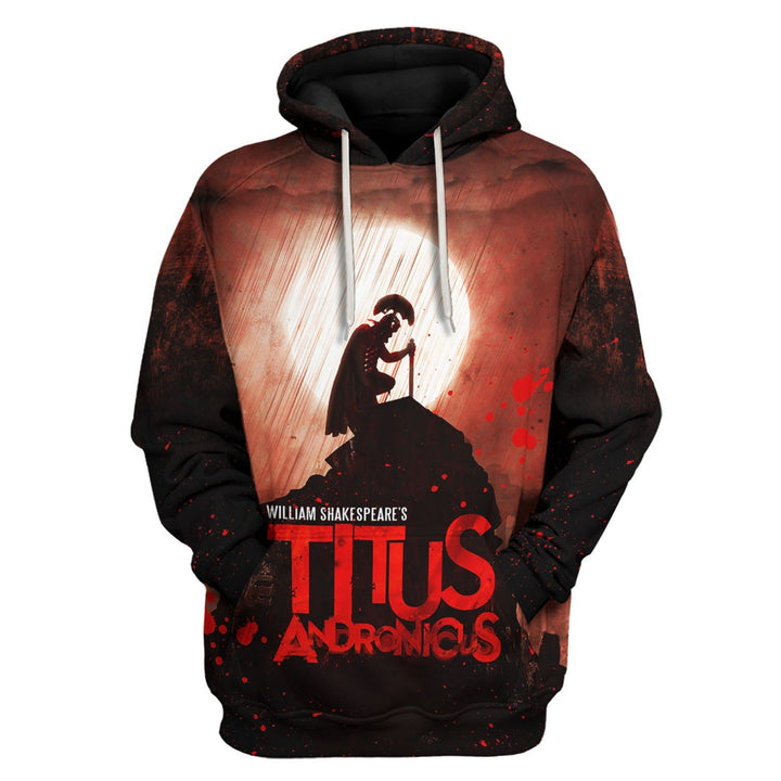 Titus Andronicus - William Shakepeare Hoodie / S Vn780