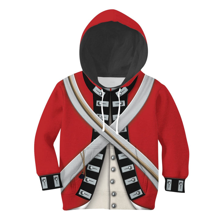Kid Version Of British Army Hoodie / S Kidqm499