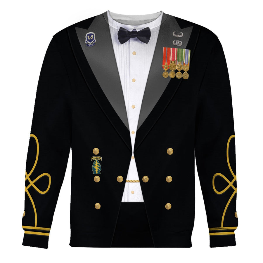 Us Army Mess Uniform Long Sleeves / S Vn230