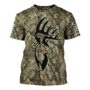 Deer Hunter Camo T-Shirt / S Qm1611