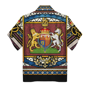 King George Vi Coronation Hawaiian Shirt Hp293