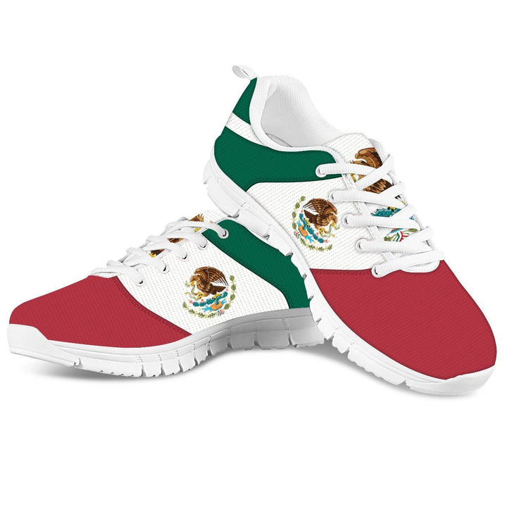 Mexico Coat Of Arms Yeezy Shoes Women Running Shoes / 35 Qm1309