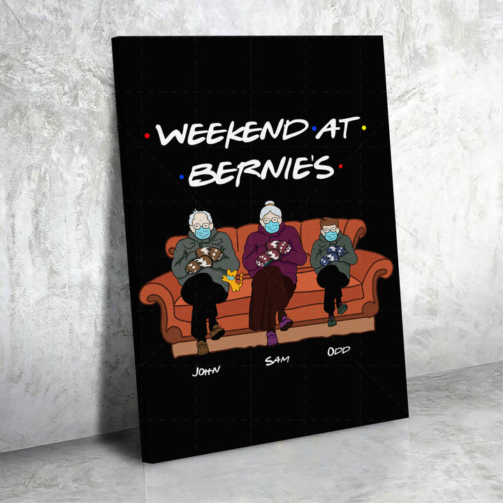 Customized Canvas-Weekend At Bernies