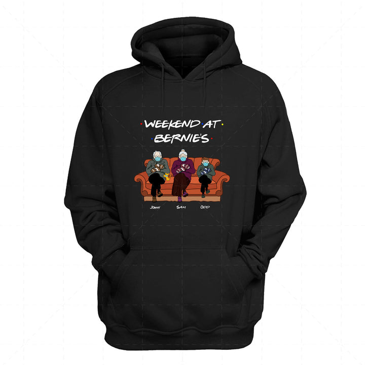 Weekend at Bernies 2D Hoodie