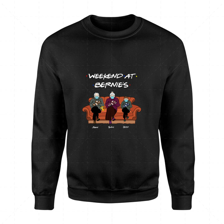 Weekend at Bernies 2D Sweatshirt