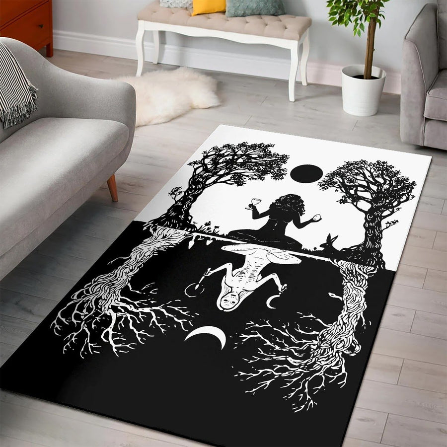 Wicca Rug / Large (5 X 8 Feet 59 94.5 Inches) Qm1285