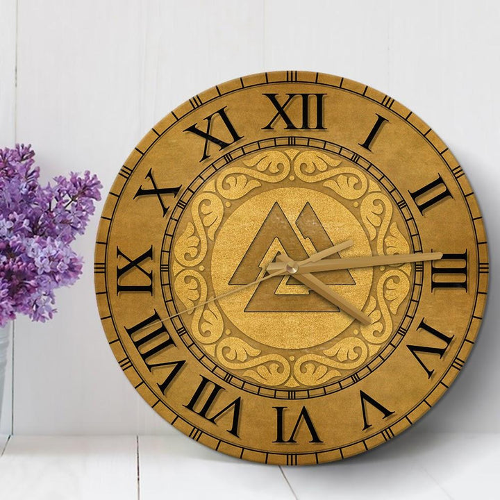 Odin Viking Wall Clock / 30 Cm - 11.8 Inches Qm1862