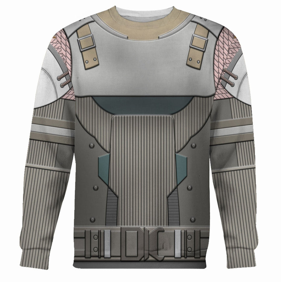 Refugee Titan Armor Set Vn128 Long Sleeves / S