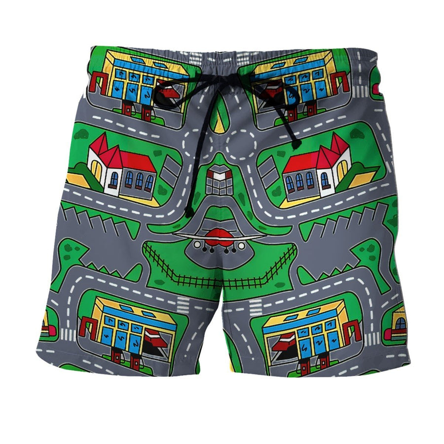 Vn527 Kid Carpet Shirt Shorts / S