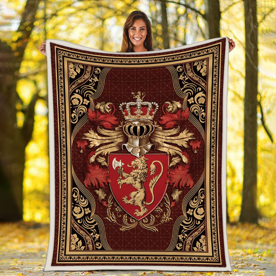 Coat Of Arms Norway Blanket Qm1334