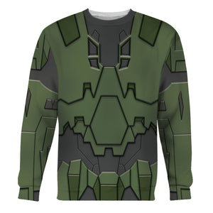Master Chief Qm189 Long Sleeves / S