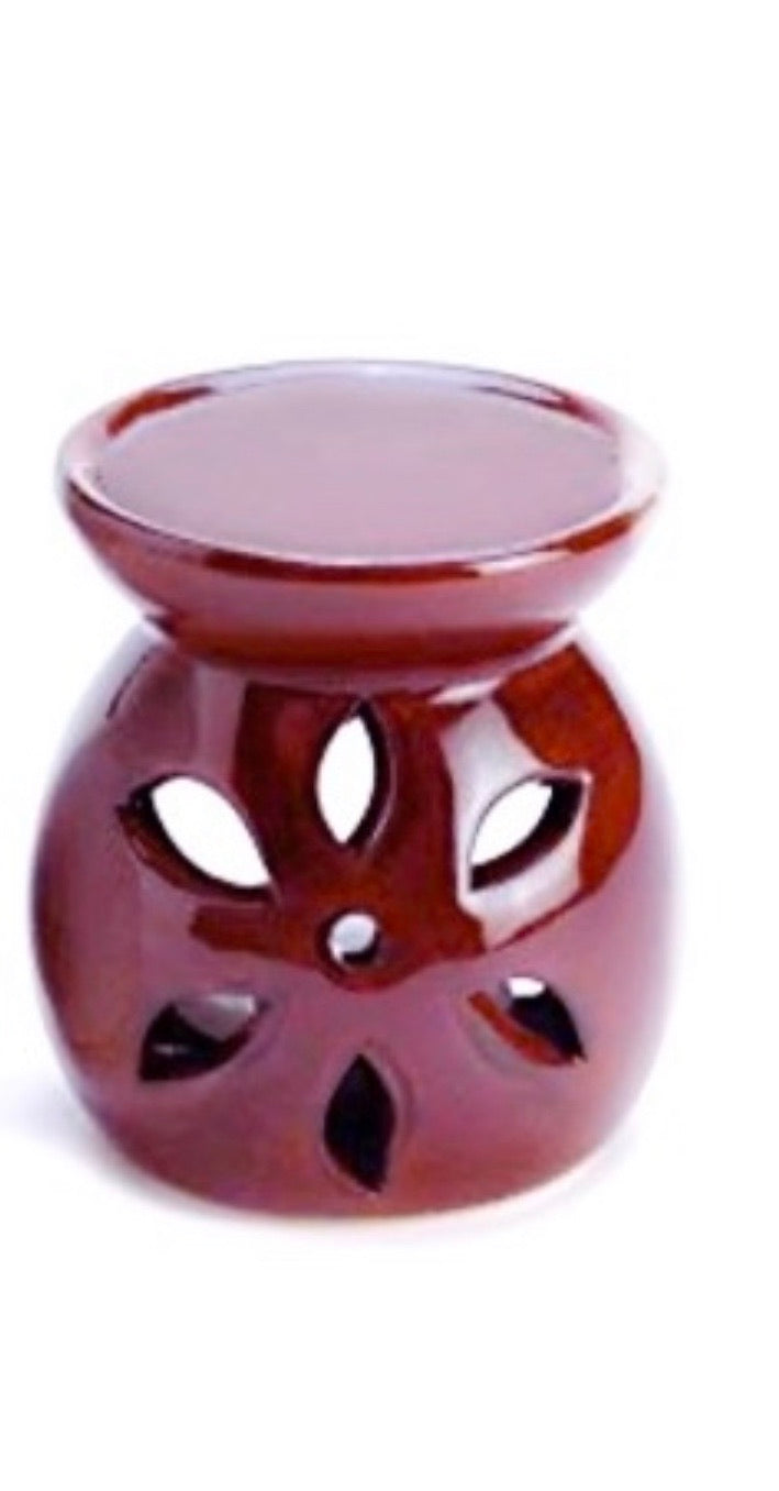 Brown Mini Oil Warmer