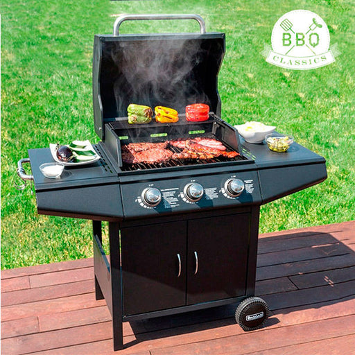 OUTLET BBQ Classics 1857K Gasgrill mit Grillrost (Ohne verpackung)