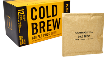 Kahwa Coffee Cold Brew Pods Instructions