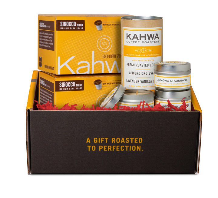 Gift Set, Candles and K-Cups