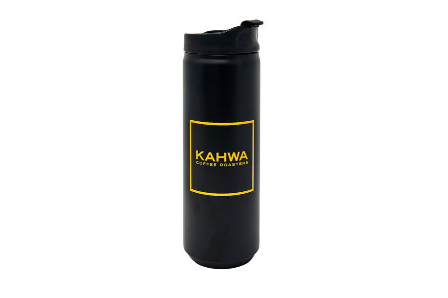 16 oz Black Travel Mug