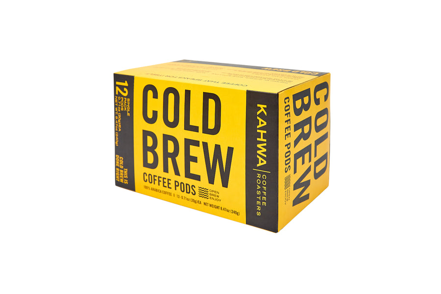 Cold Brew Coffee Pods