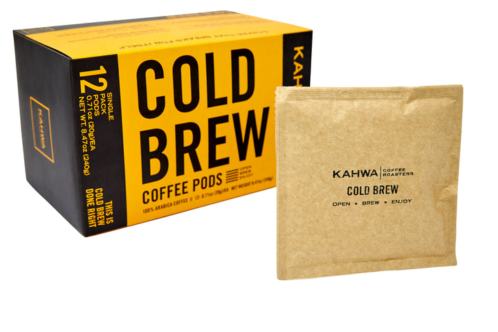 Kahwa Coffee Cold Brew Pods