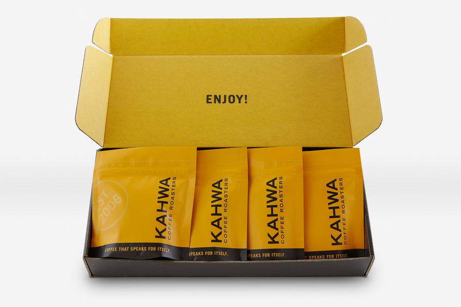 Kahwa Coffee Sampler Box