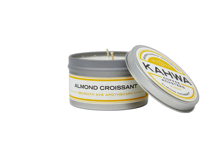 Kahwa Coffee Almond Croissant Travel Candle