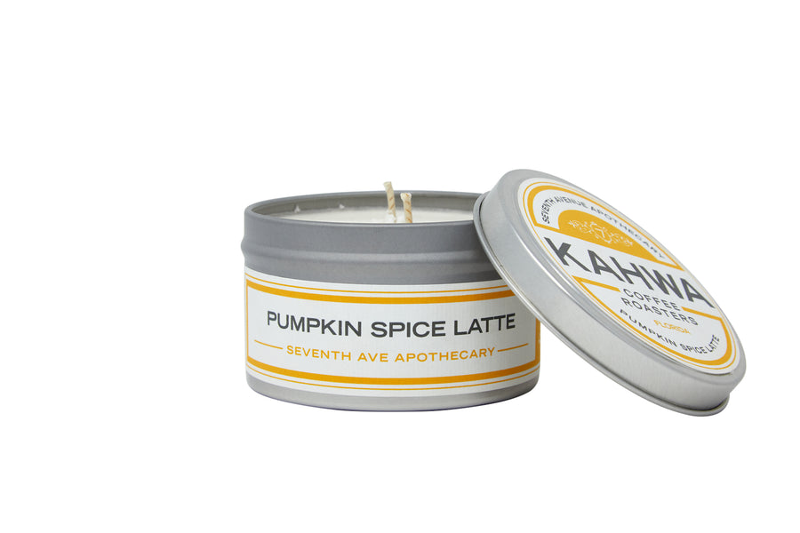 Pumpkin Spice Latte Travel Candle