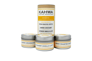 Kahwa Coffee 3 Candle Set