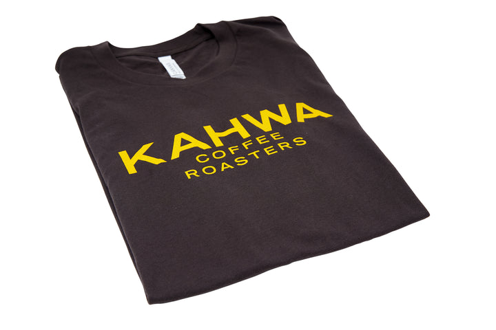 Kahwa Coffee Unisex Brown T-Shirt