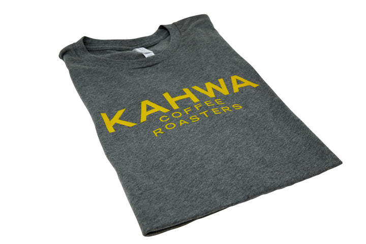 Kahwa Unisex Grey T-Shirt