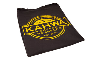 Kahwa Unisex Brown T-Shirt