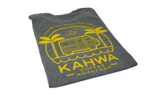Kahwa Coffee Unisex Grey T-Shirt