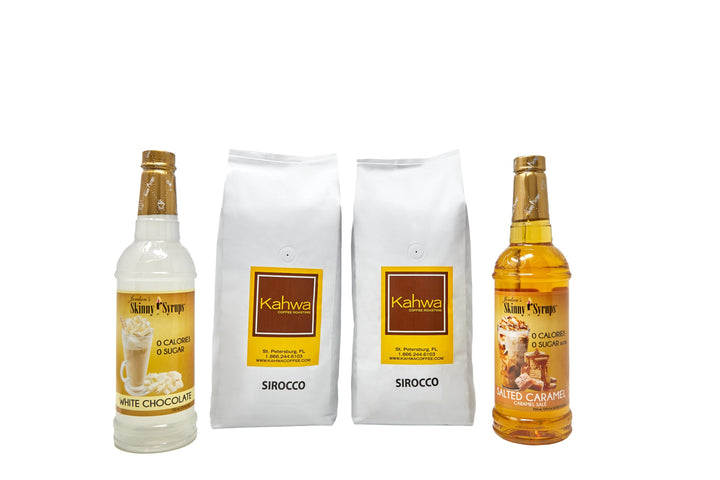 Sirocco Bundle, Coffee+Syrups