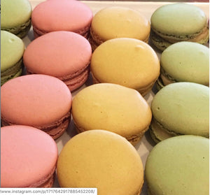 Macarons of many types at PLC