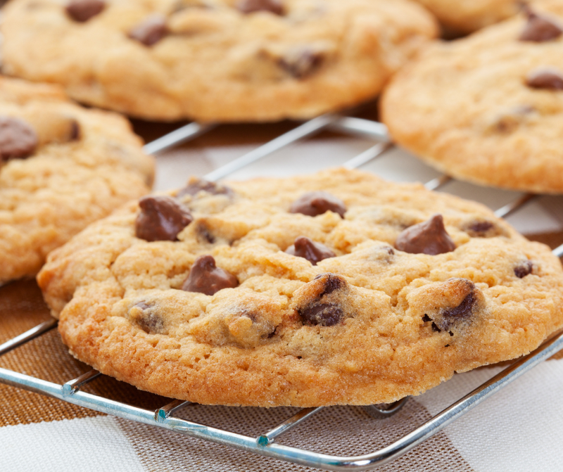 Fresh Baked Chocolate Chip Cookies(One dozen)