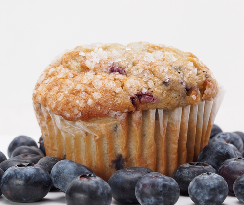 Jumbo Blueberry Muffins (6 count)