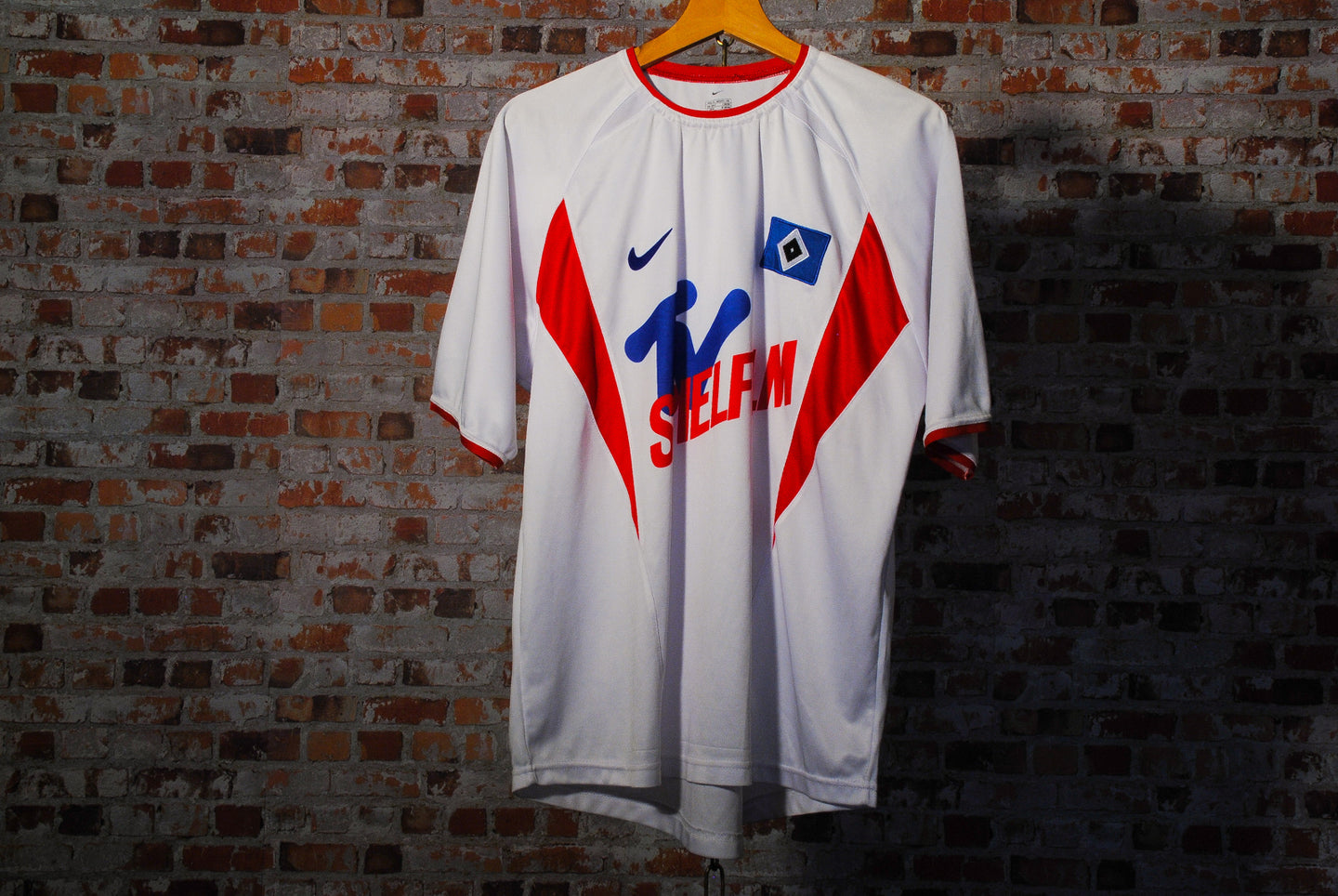 Retro Hamburg Soccer Jersey l Sponsored by Nike