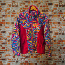 Load image into Gallery viewer, fresh-vintage-happy-ski-sweater-front