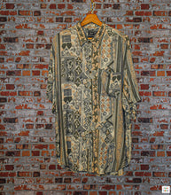 Load image into Gallery viewer, Starry Oversized Vintage Shirt