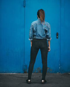 Cropped Jeans Jacket, Empowerment