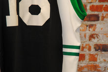 Load image into Gallery viewer, fresh-vintage-black-green-white-basketball-jersey-zoom