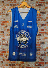 Load image into Gallery viewer, fresh-vintage-basketball-jersey-in-blue-front