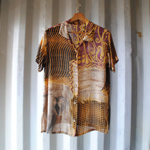 Load image into Gallery viewer, fresh-vintage-patterned-funky-vintage-shirt-front