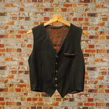 Load image into Gallery viewer, kaki-vintage-gilet