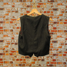 Load image into Gallery viewer, kaki-vintage-gilet-achterkant